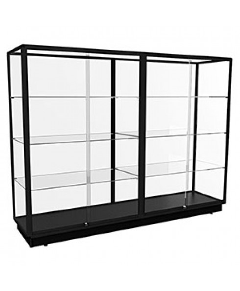 TGL 2400 – Wall Display Cabinet Extra Large – Fully assembled - Black