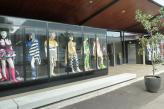 Mannequin Display Cabinets by students at Sydney TAFE